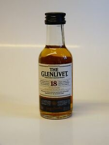 The Glenlivet 18 anni 43% vol. 1x0,05l MINIATURA-Single Speyside MALT