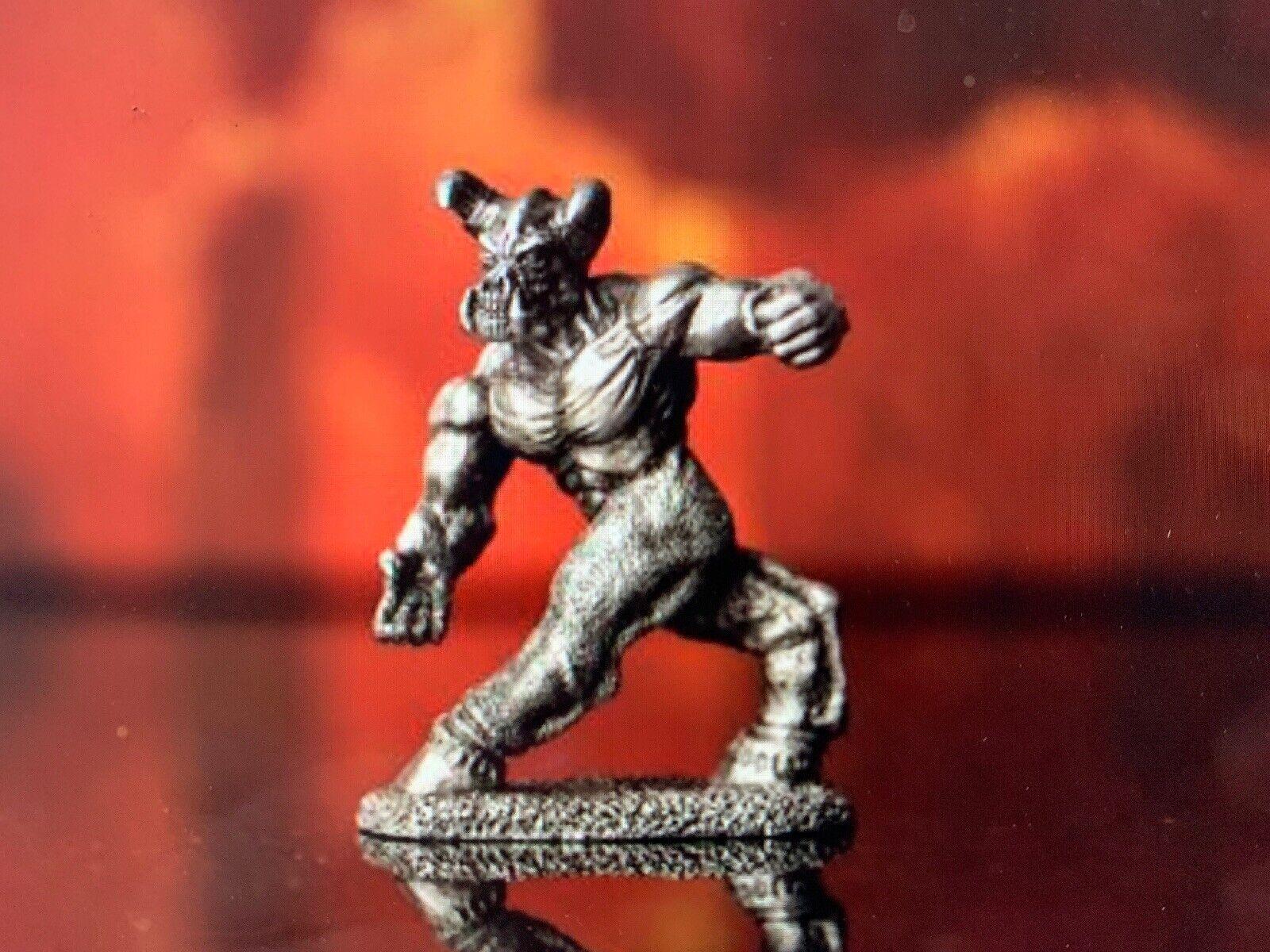 Doom Reaper Baron of Hell Miniature Lead Free Pewter Figure LOOSE - NEW Bethesda