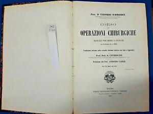 1913 - MEDICINA - CHIRURGIA . MANUALI - FIGURATO