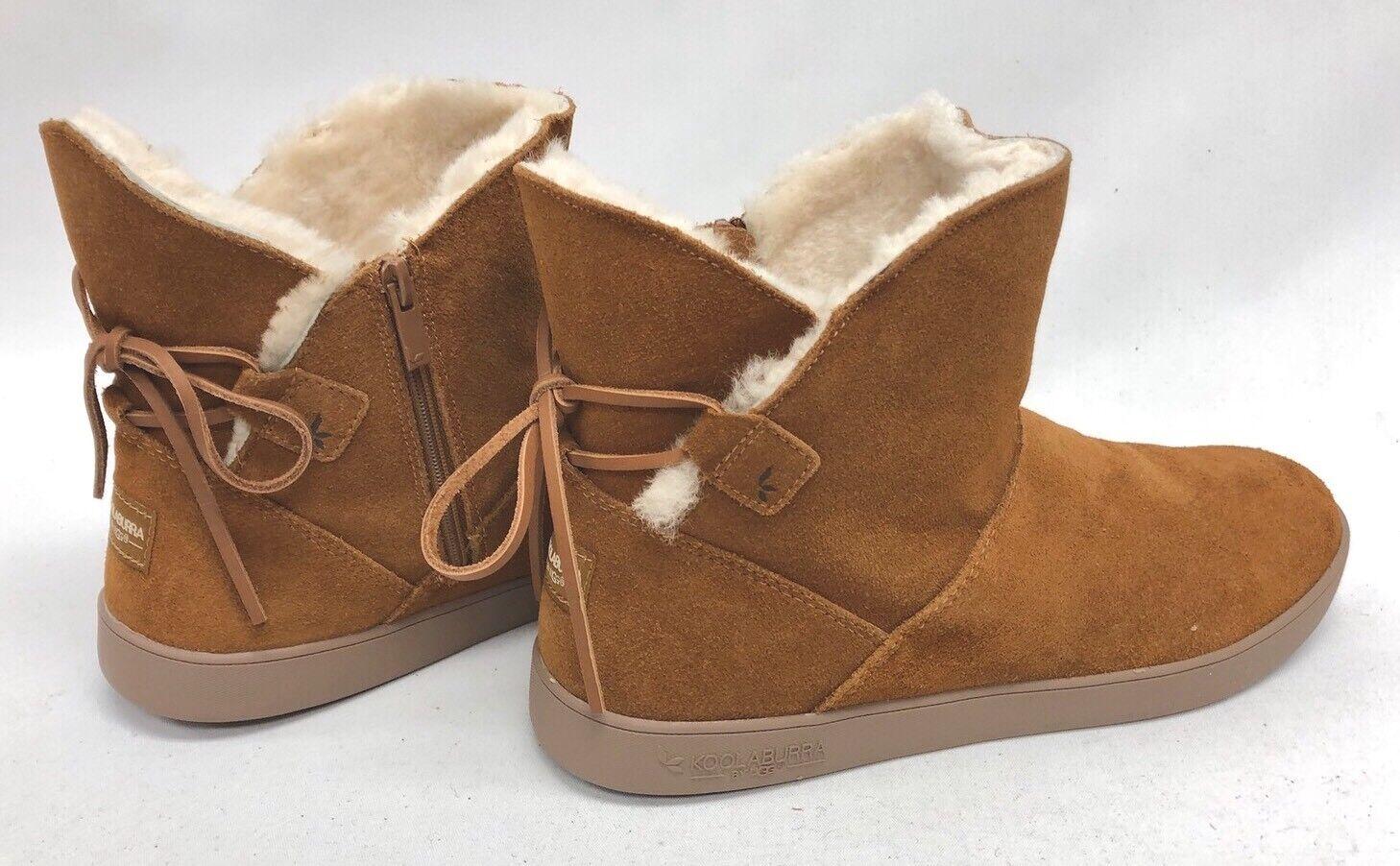 56668d9d botas shazi Mini Castaño Gamuza de Piel de Oveja 109362 para mujeres  Zapatos Arco KOOLABURRA DE nnelst6892-Botas
