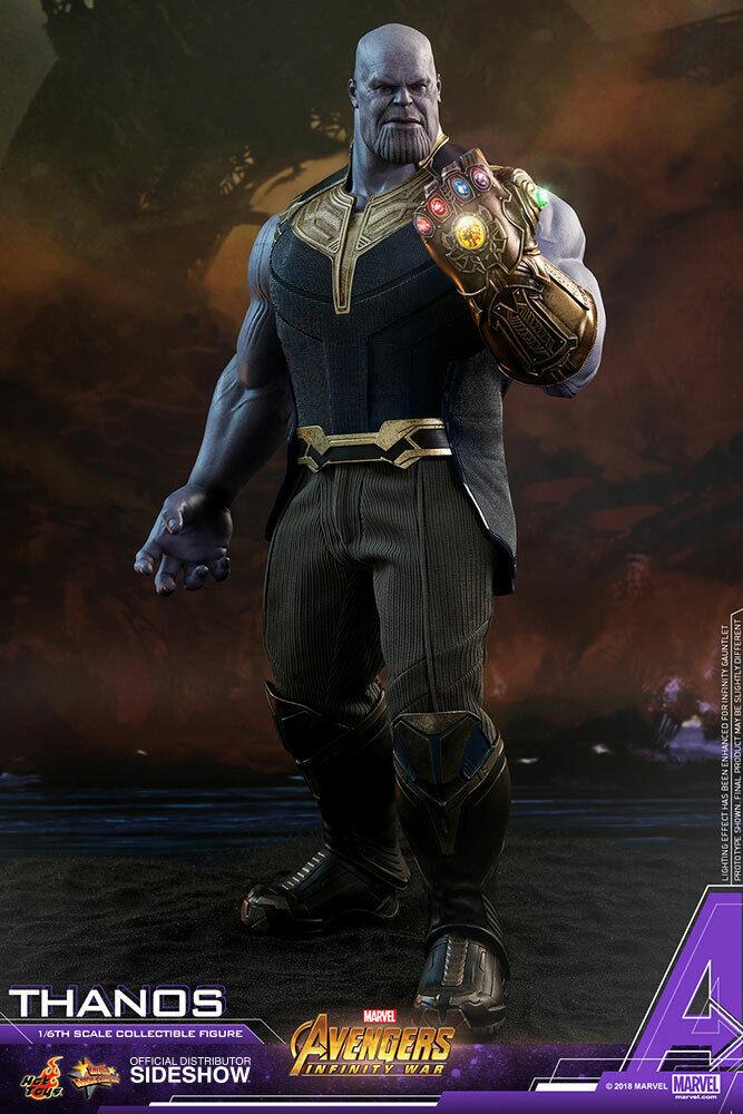 HOT TOYS 1 6 MARVEL VENGADORES  Infinito Thanos Sexta Sexta Sexta Escala Figura de MMS-479 de guerra  sorteos de estadio
