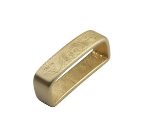 1PCS-Solid-Brass-Smooth-Pattern-Belt-Spacer-40mm