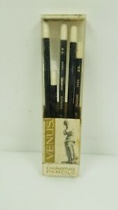 Vintage-Venus-Drawing-Pencils-3800-Used-Pack-of-5