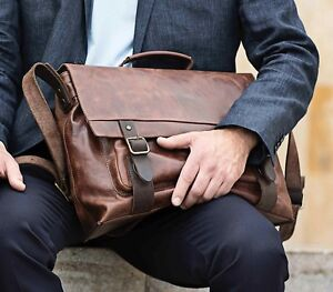 Harold-039-s-Messenger-Bag-40-33-13-cm-Notebookfach-15-034-Laptop-Tasche-Leder-254302