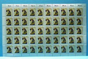 Bund-50er-Bogen-MiNr-1301-postfrisch-MNH-Formnummer-2-BW3491