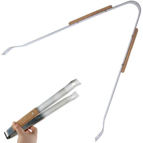 Choose SUMMER BBQ ACCESSORIES Metal Skewers Tongs Spatula Cleaning Brush Utensil