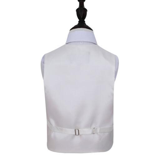 DQT raso Plain Solid Menta Verde Ragazzi Matrimonio Panciotto /& Cravatta 2-14 anni