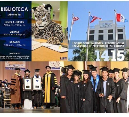 UNIVERSIDAD PUERTO RICO UPR CAROLINA University  College Campus JAGUARES CUNICA