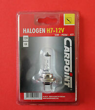"H7 55W 477 12V Halogen Replacement Single Spare Bulb CARPOINT ""NEW"""