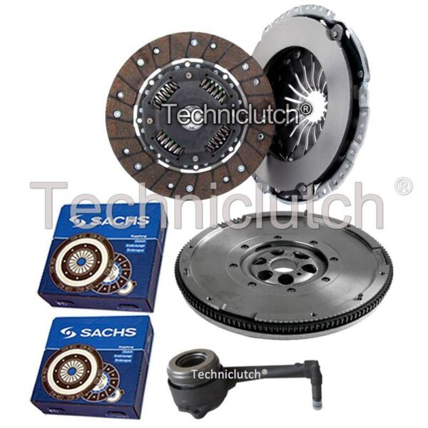2 Part Clutch Kit And Sachs Dmf And Sachs Csc For Seat Alhambra Mpv 1.9 Tdi
