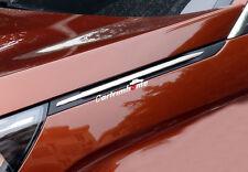 Steel Side Wing Fender Decorative Stripe Cover Trim 2pcs For Peugeot 5008 2017