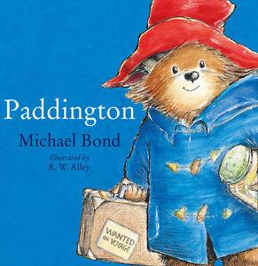 Rainbow-Designs-PADDINGTON-BEAR-STORYBOOK-Baby-Toddler-Nursery-Gift-Book-BN