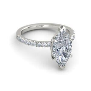 2-00-CT-WHOLESALE-MARQUISE-CUT-H-VS2-DIAMOND-SOLITAIRE-ENGAGEMENT-RING