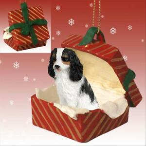Image Is Loading Cavalier King Charles Spaniel Tri Dog Red Gift