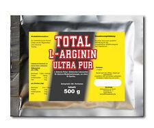 L-Arginin Pulver Ultra PUR Qualitäts Aminosäure 100% PUR XL Grösse Versandfrei