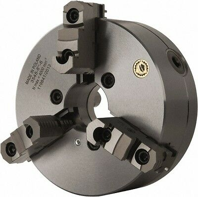 """6-1//4/"""" Bison 3Jaw Lathe Chuck Direct Mount D1-4 Spindle"""