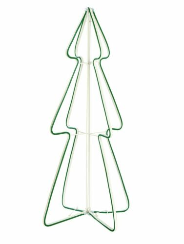 Green Home 3ft Neon Light Christmas Tree