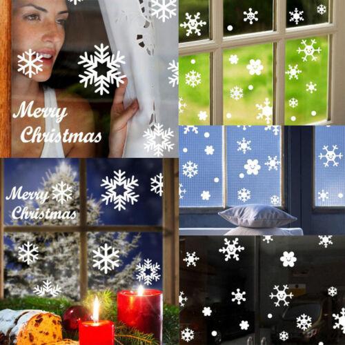 Christmas Snowflake Wall Window Stickers Angel Xmas Vinyl Art Decoration Decals