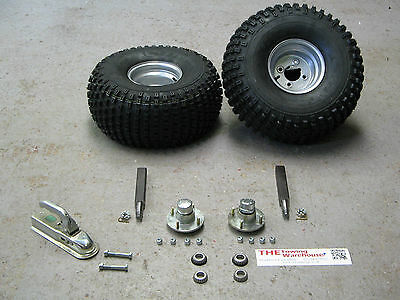 """Non Suspension Trailer Kit 8/"""" Wheels /& Stub Axles Ideal for off road use"""