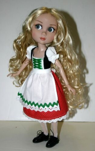 """Riding Hood Doll Clothes Sewing Pattern for 14/"""" Patience Tonner"""