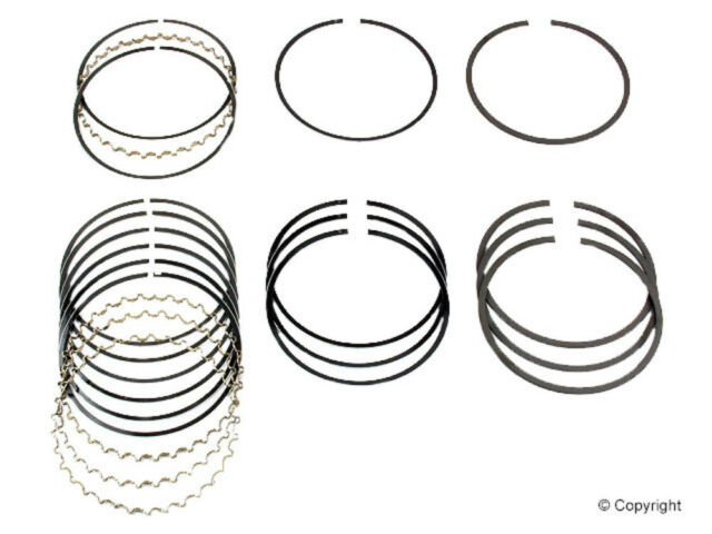 Engine Piston Ring Set Npr Wd Express 061 49001 337 Fits 85 89