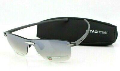 RARE New TAG HEUER Reflex Outdoor Polyvalent Rimless Wrap Sunglasses TH 3592 204