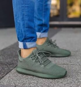d4e1864d7bf2 Adidas Tubular Shadow Trace Green Men s Size 9.5 NEW! Free S H ...