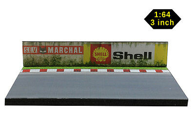 Diorama Circuit Sev Marchal, Shell - 3 Inch | 1/64ème - #3in-2-p-k-001