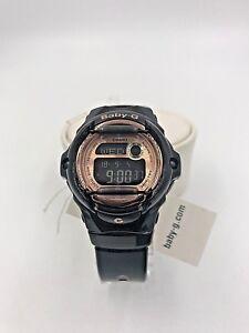 579d33ed4a4 Casio Watch BG169G-1 Women s Baby-G Rose Gold Black Digital Dial ...