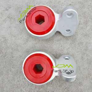 Front-Control-Arm-Bushings-2PCS-for-BMW-E46-323i-325i-328i-330i-330Ci-Z4-E85-Red