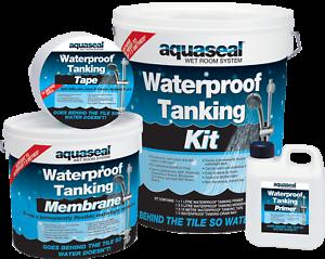 Aquaseal Wet Room System 7.5m Complete Kit