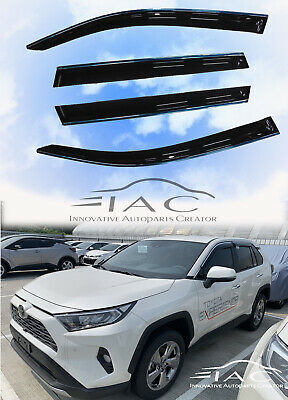 For Toyota Fortuner 04-15 Deflector Window Visors Guard Vent Weather Shield