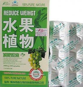 2boxs100 Authentic Fruta Natural Fast Slimming Weight Loss 60
