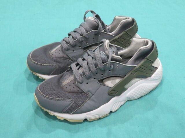 Nike Air Huarache Gray \u0026 White Running