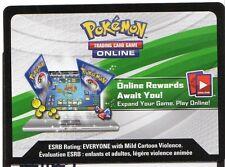 1 x Pokemon Unused Code ONLINE REWARDS MEGA MEWTWO Y COLLECTION C27