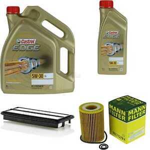 Inspection-Kit-Filter-Castrol-6L-Oil-5W30-for-Honda-Accord-VIII-Estate