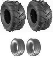 Grasshopper Tire Set Rear Ribbed Tailwheels 13x6.50x6 Bar Drive Tires 22x11x10
