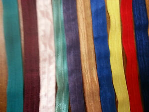 1-Mix-lot-assorted-10-colors-foe-fold-over-elastic-5-8-10x1-y-ship-from-U-S