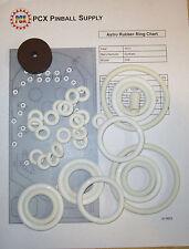 1971 Gottlieb Astro Pinball Machine Rubber Ring Kit