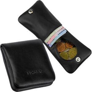 PICARD-Miniboerse-Muenzboerse-kleiner-Damen-Herren-Geldbeutel-Leder-Portemonnaie