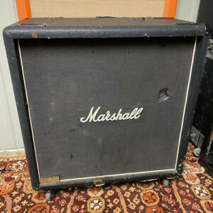 Vintage 1982 Marshall JCM800 Lead Series 4x12 1982B Amplifier Cabinet EMPTY