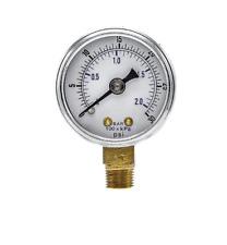 New Pressure Gauge Wog Air Compressor Hydraulic 15face 0 30 Lower Mnt 18npt