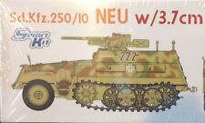 1/35 German Sd.Kfz. 250/1 'Neu' halftrack w/ 3,7cm PaK ~ Dragon CyberHobby #6595