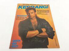 KERRANG Magazine - No 77  - Rock Music - Heavy Metal - (ref2)