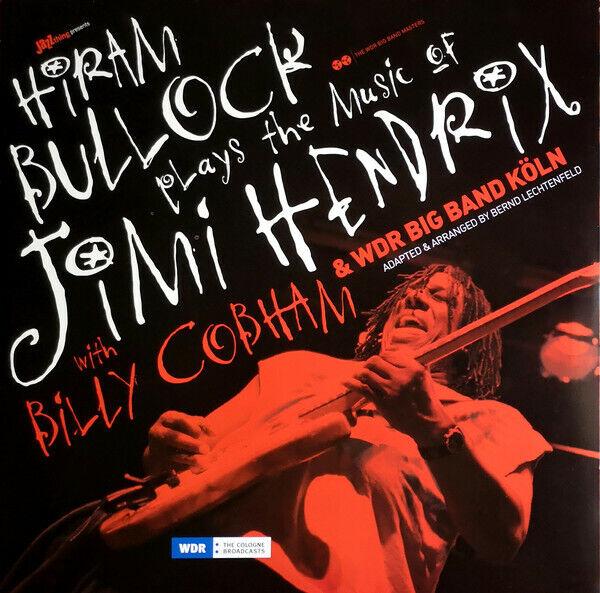 HIRAM BULLOCK PLAYS THE MUSIC OF JIMI HENDRIX LP BRAND NEW SEALED VINYL FREE P&P