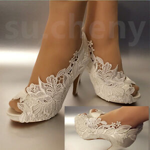 Ivory  Inch Wedding Shoes