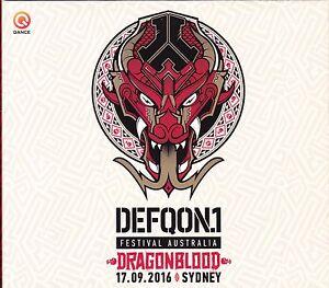 Details about Defqon 1 - Dragonblood - Festival Australia 2016