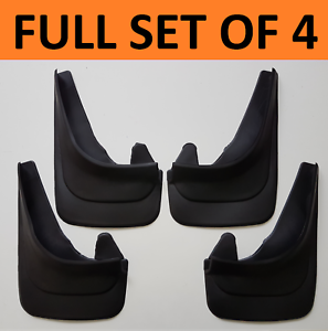 4 X NEW QUALITY RUBBER MUDFLAPS TO FIT Toyota Starlet UNIVERSAL fit