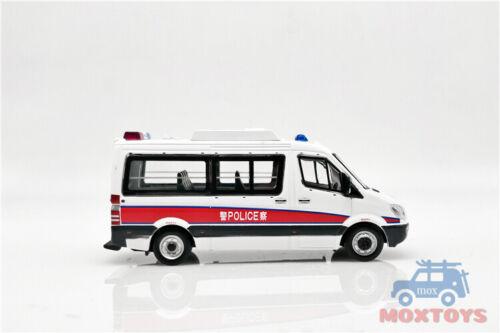 XCarToys 1:64 Benz Sprinter HongKong H.K Diecast Model Car
