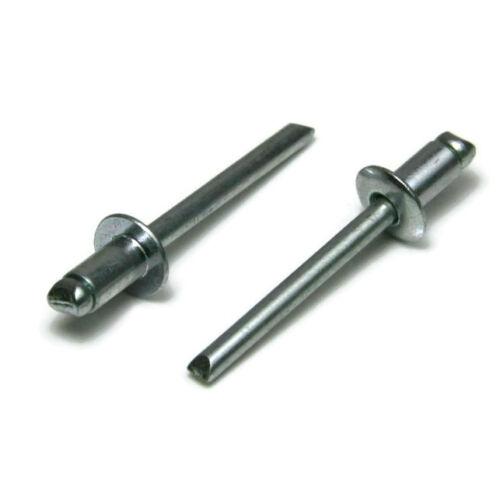 5//32 x 1//8 Grip USA Made Qty 250 Steel POP Rivets ALL Steel Blind Rivet 5-2